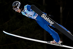 February 7, 2019 - Ljubno, Savinjska, Slovenia - Nozomi Maruyama of Japan competes on qualification day of the FIS Ski Jumping World Cup Ladies Ljubno on February 7, 2019 in Ljubno, Slovenia. (Credit Image: © Rok Rakun/Pacific Press via ZUMA Wire)