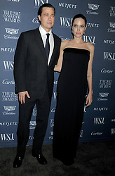Actors Brad Pitt and Angelina Jolie attend the WSJ. Magazine 2015 Innovator Awards at the Museum of Modern Art in New York City, NY, USA, on November 4, 2015. Photo by Dennis Van Tine/ABACAPRESS.COM  | 522745_004 New York City Etats-Unis United States