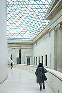 The Great Court and Reading Room of the British Museum, London, England