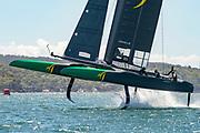 SailGP Practice race day.  SailGP Australia Team.