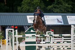 Beyers Guy, BEL, Mithras de Regor<br /> Belgian Championship horses 6 years of age<br /> Gesves - 2018<br /> © Hippo Foto - Julien Counet<br /> 15/08/2018