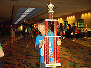 Daniel Hung, a second-grader at T.H. Rogers, participated in the National Chess tournament in Florida this weekend, bringing home third place individual trophy for the second grade Championship section. Daniel's chess rating is currently 1446.<br />