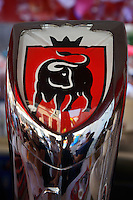 Jupiler beer with the Bull as a symbol, a habit with old traditions from aurochs times, Ravenshorst, The Netherlands