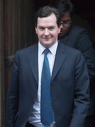Chancellor George Osborne  arriving at the Leveson Inquiry in London, Monday, 11th June 2012. Photo by: i-Images