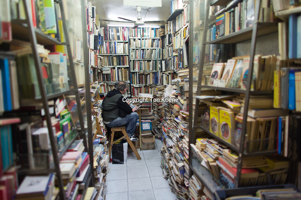 second hand book store in napels