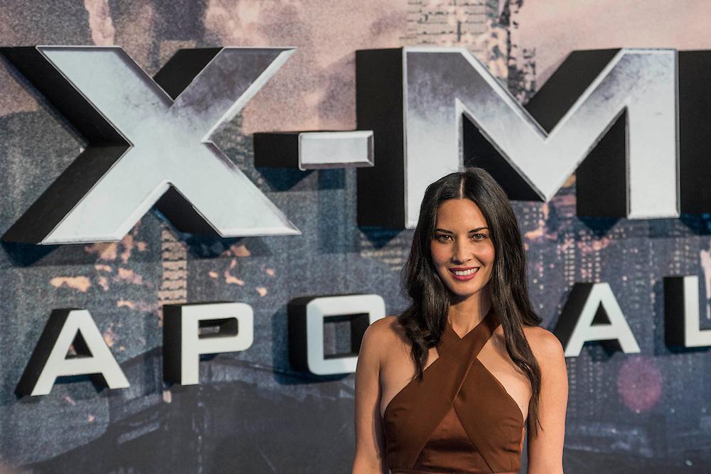 Olicia Munn (Psylocke) - The 'global fan screening' of Twentieth Century Fox's X-Men Apocalypse at the BFI IMAX at Waterloo.