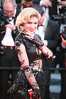 Hofit Golan at the The Homesman gala screening red carpet at the 67th Cannes Film Festival France. Sunday 18th May 2014 in Cannes Film Festival, France.