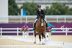 Gowanlock Ashley (CAN) - Maile<br /> Team Test - Grade Ib - Dressage <br /> London 2012 Paralympic Games<br /> © Hippo Foto - Jon Stroud