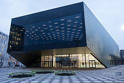 Exterior of new Futurium centre in Berlin, Germany