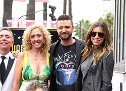 NSYNC receives a star on the Hollywood Walk of Fame. 30 Apr 2018 Pictured: Jessica Biel, Justin Timberlake. Photo credit: Jaxon / MEGA TheMegaAgency.com +1 888 505 6342