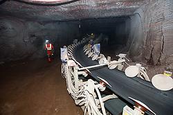 Conveyor belt Boulby Potash mine