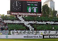 Fotball<br /> Kvalifisering UEFA Europa League<br /> 14.07.2011<br /> Ferencvaros v Aalesund<br /> Foto: Aleksandar Djorovic, Digitalsport<br /> <br /> Ferencvaros fans