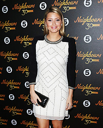 © Licensed to London News Pictures. 17/03/2015, UK. Holly Valance (Felicity Flick Scully), Neighbours 30th Anniversary, Café De Paris, London UK, 17 March 2015,. Photo credit : Richard Goldschmidt/Piqtured/LNP
