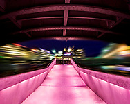 Life Under the City, this is a very exciting image taken from a walkway under one of the main bridges across the river that enters Lake Geneva in Geneva's city centre. The amazing colours are born from the creative lighting used on the walkway. This shows the general attitude to Swiss public building design. <br /> <br /> This image is ready to download for personal or commercial use and to order as a limited edition print. I will only make available 50 prints of this image, you can choose to have it printed on canvas or as a framed or unframed print ensuring you have an exclusive peace of highly collectable photo art to add to any home or business.