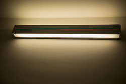 Close-up of fluorescent light, Munich, Bavaria, Germany