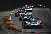 August 5 2018: IMSA Weathertech Continental Tire Road Race Showcase. 7 Acura Team Penske, Acura DPi, Helio Castroneves, Ricky Taylor