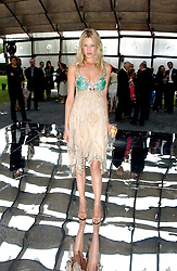 Model LANDI SWANEPOEL at the annual Serpentine Gallery Summer Party co-hosted by Jimmy Choo shoes held at the Serpentine Gallery, Kensington Gardens, London on 30th June 2005.<br /><br />NON EXCLUSIVE - WORLD RIGHTS