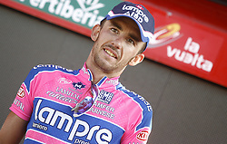09.09.2011, Andalusien, ESP, LA VUELTA 2011, 18. Etappe, im Bild Francesco Gavazzi celebrates (r) and Kristof Vandewalle during the stage of La Vuelta 2011 between Solares and Noja.September 8,2011. EXPA Pictures © 2011, PhotoCredit: EXPA/ Alterphoto/ Paola Otero +++++ ATTENTION - OUT OF SPAIN/(ESP) +++++