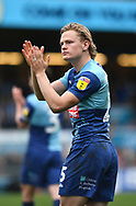 Wycombe Wanderers Alex Samuel (25) after the match*** during the EFL Sky Bet League 1 match between Wycombe Wanderers and Sunderland at Adams Park, High Wycombe, England on 9 March 2019.