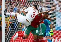 Pepe (Portugal) and Khalid Boutaib (Morocco)<br /> Moscow 20-06-2018 Football FIFA World Cup Russia  2018 <br /> Portugal - Morocco / Portogallo - Marocco <br /> Foto Matteo Ciambelli/Insidefoto