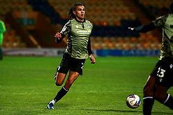 Miles Welch-Hayes of Colchester United runs on the ball - Mandatory by-line: Ryan Crockett/JMP - 20/11/2020 - FOOTBALL - One Call Stadium - Mansfield, England - Mansfield Town v Colchester United - Sky Bet League Two