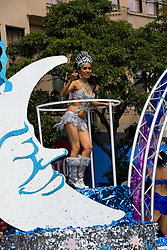 California: San Francisco Carnaval festival parade in the Mission District. Photo copyright Lee Foster. Photo # 30-casanf81130