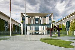 View of the Chancellery building Bundeskanzleramt (Chancellor's Office), Berlin, Germany