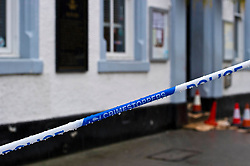 Pictured: Police respond to reports of  serious assault<br /> <br /> Police in Midlothian are investigating a serious assault on a 36-year-old man in Penicuik. The incident happened around 2am on Monday 3rd September in the High Street area of the town. The victim was taken to Edinburgh Royal Infirmary with serious head injuries.  Police are following a positive line of enquiry.<br /> <br /> <br /> <br /> Ger Harley   EEm 3 September 2018