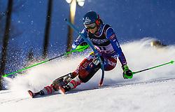 February 8, 2019 - Re, SWEDEN - 190208 Petra Vlhova of Slovakia competes in the women's combination during the FIS Alpine World Ski Championships on February 8, 2019 in re  (Credit Image: © Daniel Stiller/Bildbyran via ZUMA Press)