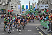 Start of the stage begins at the OVO Energy Women's Tour, London Stage, at Regent Street, London, United Kingdom on 11 June 2017. Photo by Martin Cole.