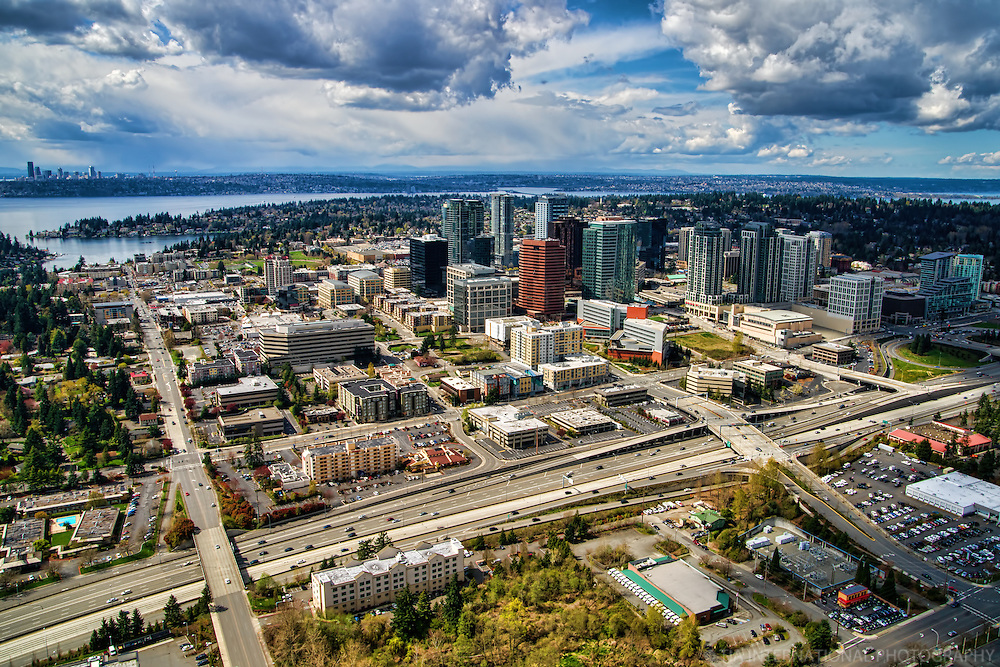 City of Bellevue, Meydenbauer Bay & Lake Washington