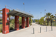 Louie Pompeii Memorial Sports Park Entrance in Glendora