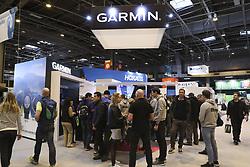 April 6, 2018 - Paris, France - Stand Garmin (Credit Image: © Panoramic via ZUMA Press)