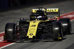 February 18, 2019 - Barcelona, Catalonia, Spain - Daniel Ricciardo of Australia driving the (3) Renault F1 Team RS19 during day one of F1 Winter Testing at Circuit de Catalunya on February 18, 2019 in Montmelo, Spain. (Credit Image: © Jose Breton/NurPhoto via ZUMA Press)
