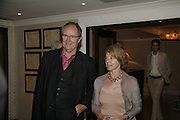 Jim Broadbent and Anastasia Lewis, UK premiere for Pedro Almodovar's Volver. Curzon Mayfair and afterwards at the Mirabelle. London. 3 August 2006. ONE TIME USE ONLY - DO NOT ARCHIVE  © Copyright Photograph by Dafydd Jones 66 Stockwell Park Rd. London SW9 0DA Tel 020 7733 0108 www.dafjones.com