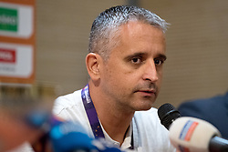 Igor Kokoskov at press conference of KZS and Slovenian national baskteball team after winning Gold medal at Eurobasket 2017 - Istanbul on September 19, 2017 in Austria Trend Hotel, Ljubljana, Slovenia. Photo by Matic Klansek Velej / Sportida