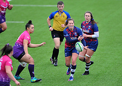 Amber Reed of Bristol Bears Women - Mandatory by-line: Paul Knight/JMP - 24/10/2020 - RUGBY - Shaftesbury Park - Bristol, England - Bristol Bears Women v Loughborough Lightning  - Allianz Premier 15s