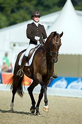 Doesing Stine (DEN) - Lehmanns Lilo<br /> FEI World Dressage Championships for Young Horses<br /> Internationales Dressur- und Springfestival - Verden 2014<br /> © Dirk Caremans