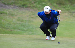 Jordan Smith during day two of the Betfred British Masters at Hillside Golf Club, Southport.