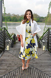 OLIVIA WAYNE at a party to launch the Taylor Morris Explorer Collection held at the Serpentine Lido, Hyde Park, London on 11th May 2016.