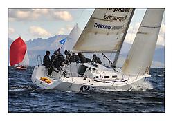 The Brewin Dolphin Scottish Series, Tarbert Loch Fyne...GBR66R Christie Cancer Care J109  RStGYC Hyland / Biggs.