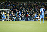 Photo: Marc Atkins.<br /> Wycombe Wanderers v Mansfield Town. Coca Cola League 2. 01/09/2006. Jermaine Easter scores for Wycombe.