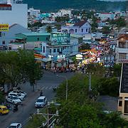 Night market street, Phuquoc, Vietnam