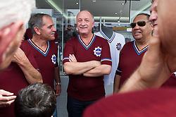 O técnico da Seleção Brasileira de Futebol, Luiz Felipe Scolari, durante encontro com ex- jogadores do Caxias, em evento de lançamento da camisa retrô do clube, em Caxias do Sul (RS) Foto: Vinícius Costa/Preview.com
