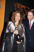 DAME ZAHA HADID named Veuve Clicquot businesswoman of the year- ; JO THORNTON, The Veuve Clicquot Business Woman Of The Year Award, celebrating women's excellence in business and commitment to sustainability. Claridge's, Brook Street, London, 22 April 2013