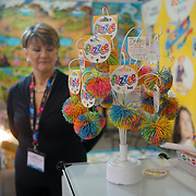London, England, UK. 25 January 2018. Hundreds of stalls exhibition at the 65th Toy Fair at Olympia London, UK.