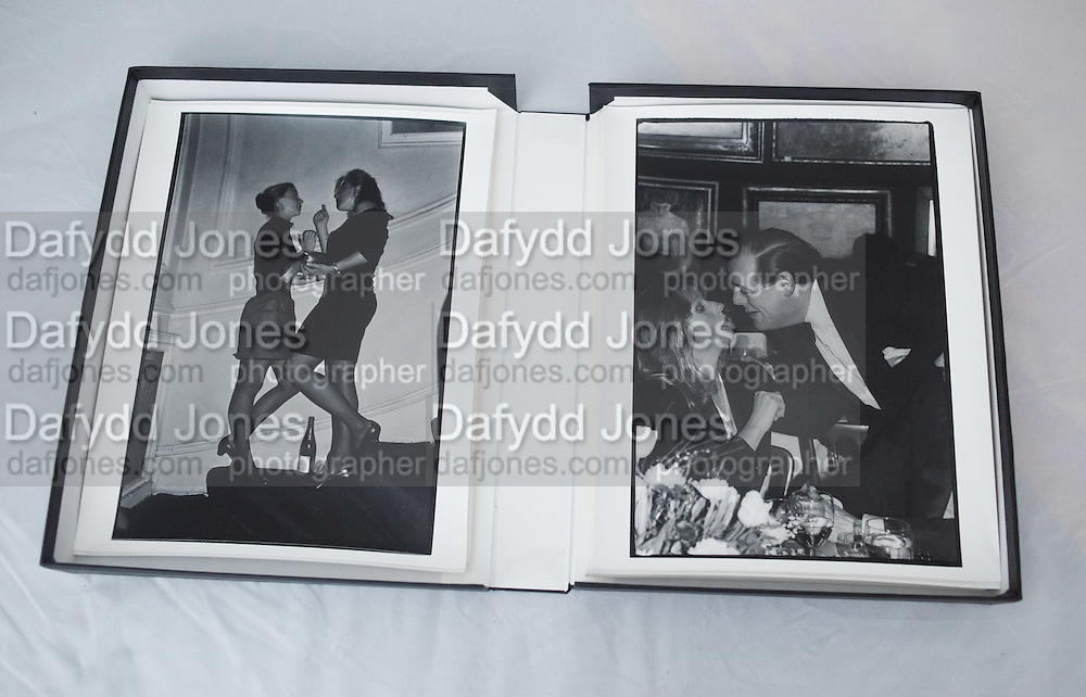 LEFT: Carolyn Wroughton and Shona McKinney at Jo Farrell's 30th birthday party. Polish Club. London. 1988.<br /> <br /> RIGHT: Lady Gowrie and the hon Nicholas Soames. Gala auction in aid of Courtauld Institute of Art fund. Sotheby's. London. 23/3/87.