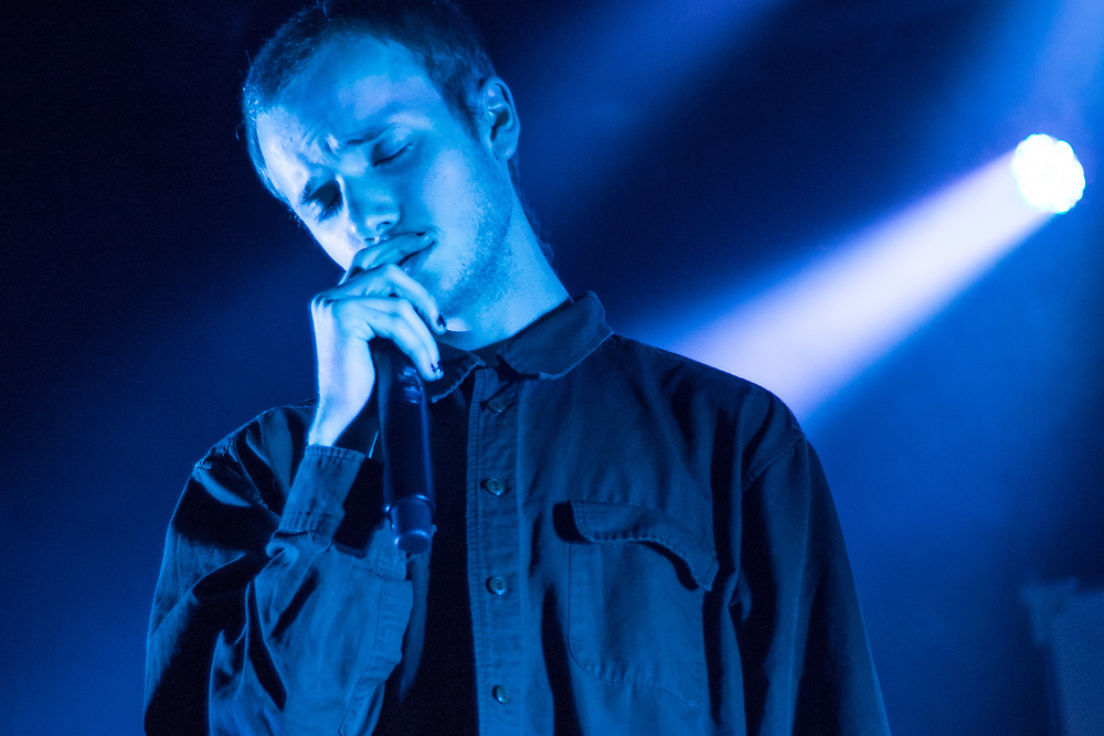 Corbin (Spooky Black) performs at the Majestic Theatre in Madison, WI on September 20, 2017.