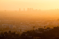 Los Angeles Sunset from Griffith Park, California