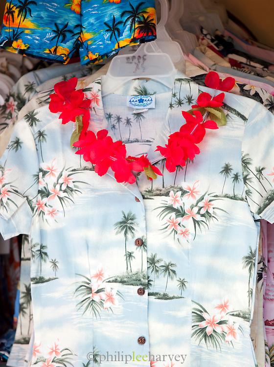 Hawaiian floral shirts for sale, O'Ahu, Hawai'i